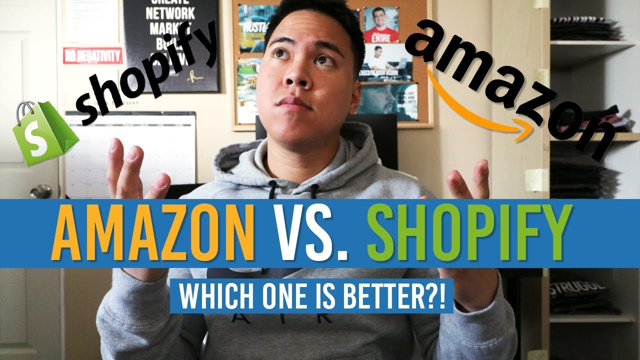 Shopify Dropshipping vs. Amazon FBA?! Which One Is Better?!