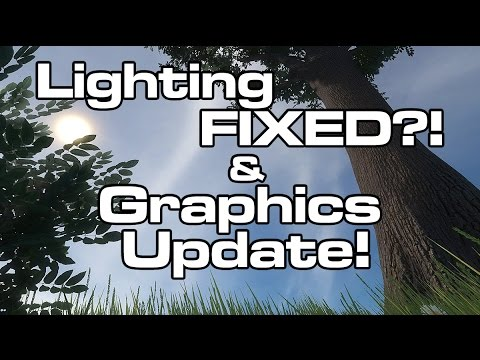 Space Engineers - LIGHTING is FIXED?! Quick look at the new PBR & Lighting Fixes (Update 1.150 )