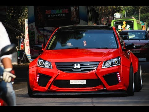 India's Best   Modified Honda Accord   Civic   Camry