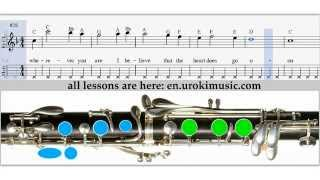 How to Play Clarinet - Titanic My Heart Will Go On - Sheet Music Tutorial Lesson