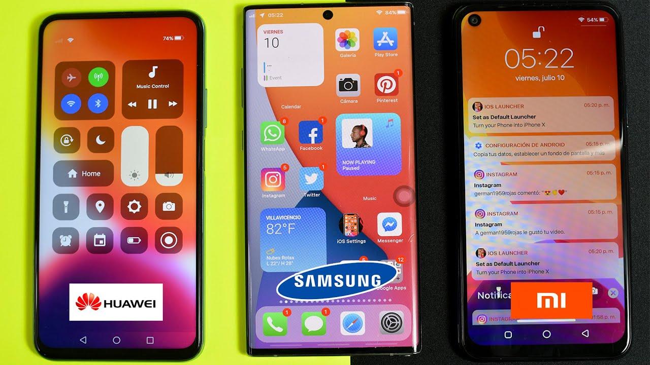 Instalar IOS 14 DE iphone 12 En CUALQUIER ¡Android! 2020