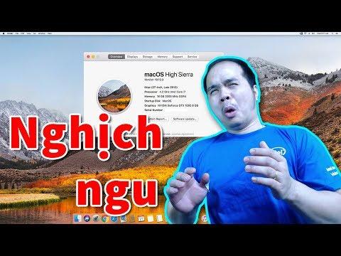 Thanh Niên Nghịch Ngu Cài MAC OS Lên PC Và Cái Kết