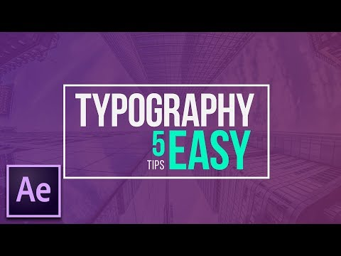 5 Easy Title Motion Graphics Techniques | After Effects Tutorial
