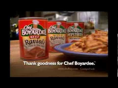 chef boyardee mac and cheese commercial