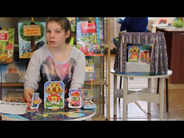 Изображение предпросмотра прочтения – ЛюдмилаВдовкина читает произведение «Заюшкина избушка» (Русский фольклор )