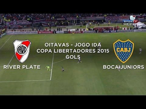 Gol - River Plate 1 x 0 Boca Juniors - Libertadores - 07/05/2015