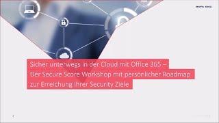 Sicher unterwegs in der Cloud mit Office 365
