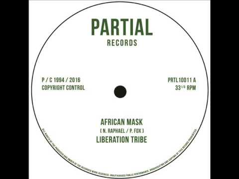 """Liberation Tribe (Paul Fox / Nick Manasseh) African Mask - Partial 10"""" PRTL10011 A"""