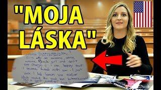 Jak balí Američané SLOVENSKÉ HOLKY | Vzkazy ve školní ročence