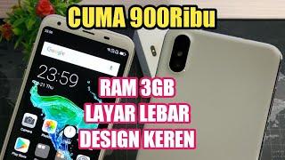 900 Ribu Ram 3gb Design Super Keren | Test Pubg | Unboxing & Review