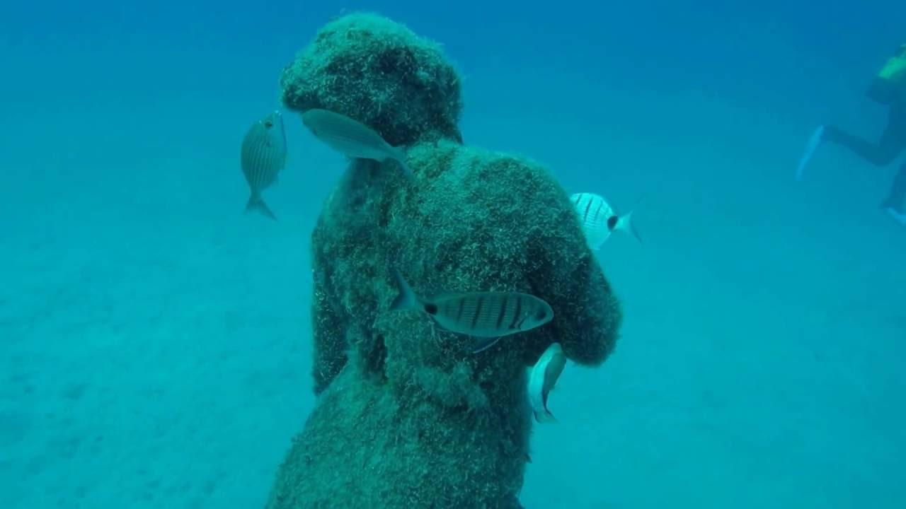 The underwater museum museo atlantico lanzarote for Spain underwater museum
