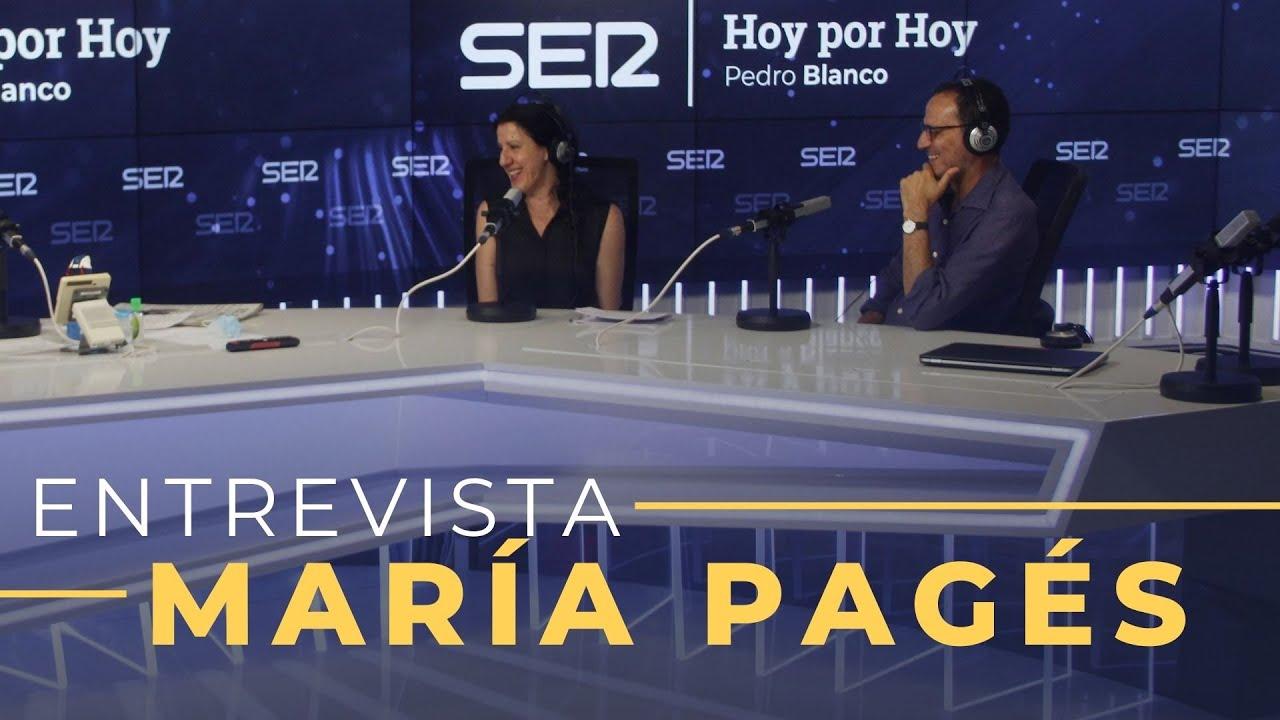 Entrevista a María Pagés en Hoy por Hoy (29-07-2020)