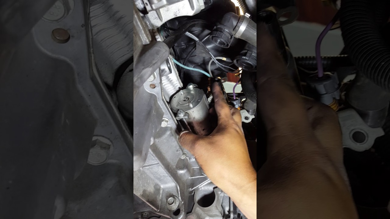 Changing a crankshaft positioning sensor 2010 chevy malibu 24l  YouTube
