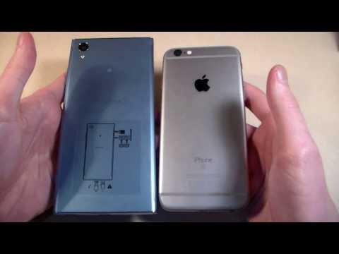 Sony Xperia XA1 Plus Vs IPhone 6S