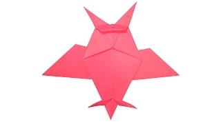 Сова оригами juravliki.ru