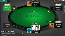 Just A Typical 30 Minutes On Bet365 Poker