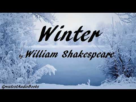 WINTER by William Shakespeare - FULL Poetry AudioBook | GreatestAudioBooks