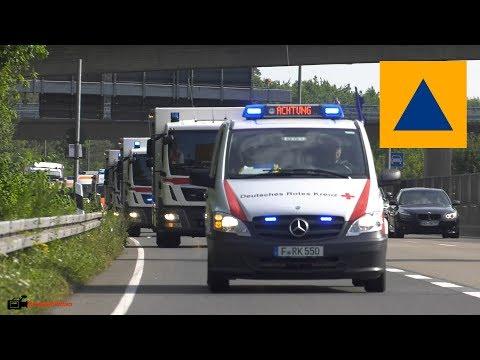 MANV Katastrophenschutzübung in Frankfurt a.M.