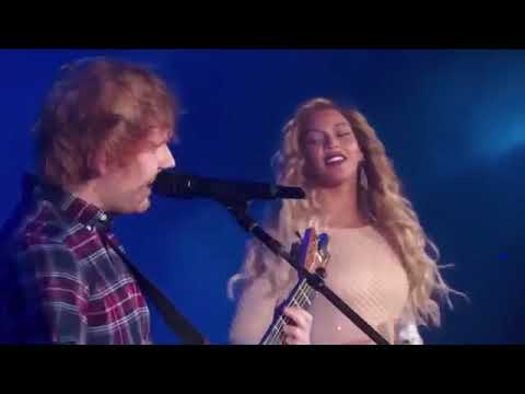 Ed Sheeran And Beyonce - Live Perfect Duet