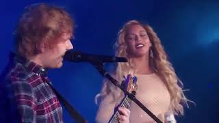 Cover images Ed Sheeran and Beyonce - Live Perfect Duet