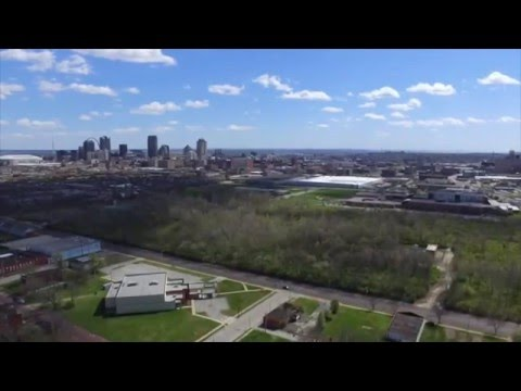 Aerial video: National Geospatial Intelligence Agency - North St. Louis City