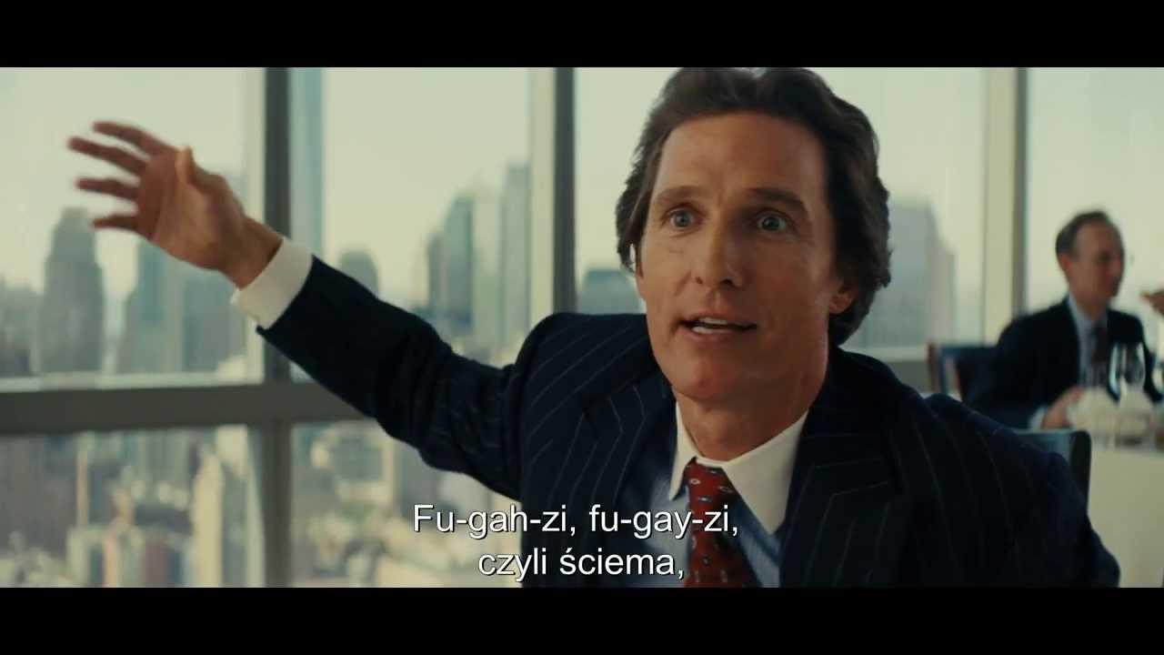 Wilk z Wall Street na Cineman - zwiastun