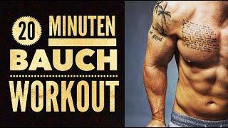 20 Minuten Bauch Training für zuhause zum Mitmachen | Eigenes Körpergewicht für den Sixpack