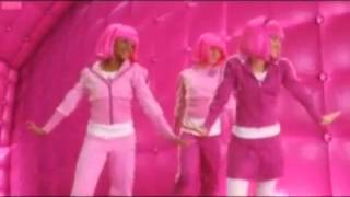 Stephanie (Lazy Town) bailando We rollin