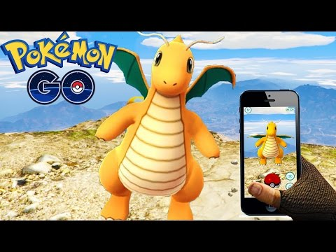 BEST GTA 5 Mods - POKEMON GO GTA 5 MOD!! - GTA 5 Pokemon GO Mod Gameplay! (GTA 5 Mods )
