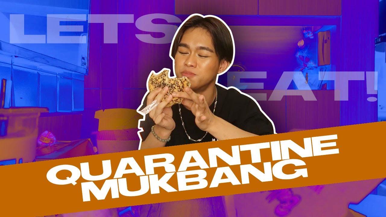 Quarantine Cravings Mukbang with ME
