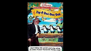 Video Digitized opening to Disney's SingAlong Songs: Zip-A-Dee-Doo-Dah (UK VHS) download MP3, 3GP, MP4, WEBM, AVI, FLV November 2018