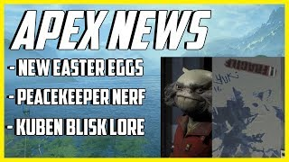New Apex Legends Easter Eggs, Blisk Lore Update, Huge Peacekeeper Nerf Update