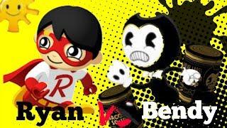 TAG WITH RYAN VS BENDY'S NIGHTMARE RUN