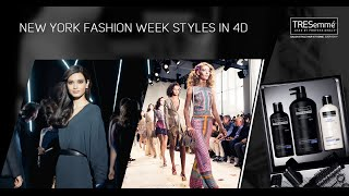 Experience New York Fashion Week like never before in 4D with TRESemmé