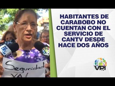 Carabobo - Habitantes De Carabobo No Cuentan Con El Servicio De Cantv Desde Hace Dos Años - VPItv