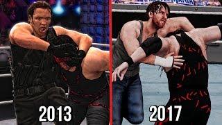 Video The Evolution Of Dean Ambrose's Dirty Deeds ( WWE 2K14 To WWE 2K18 ) download MP3, 3GP, MP4, WEBM, AVI, FLV Januari 2018