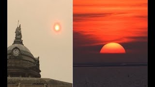 NASA Press Release Evidence of Planet X is Mounting-Sky Turns Red in Europe-Fire and Fury on Earth
