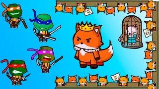 Игра для детей - УДАРНЫЙ ОТРЯД КОТЯТ - прохождение - Flavios № 5