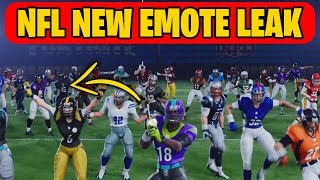 "NEW EMOTE LEAKED in ""Fortnite X NFL"" Trailer (New Fortnite NFL Emote Coming Soon!)"