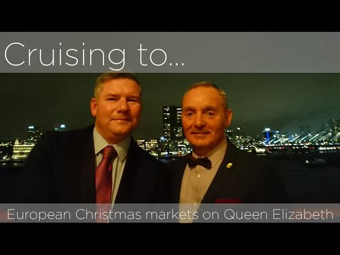 Queen Victoria Christmas markets cruise.