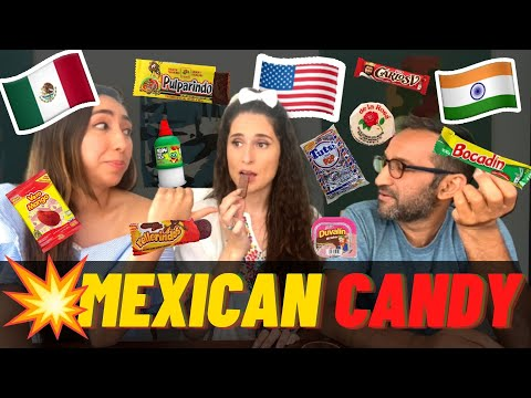 TASTING MEXICAN CANDY 🔥😳