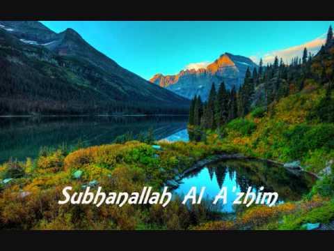 Zikir Subhanallah Wa Bihamdihi Subhanallahil Adzim