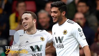 ¡Gracias! Manchester City hizo feliz al Wolves y a Raúl Jiménez | Telemundo Deportes