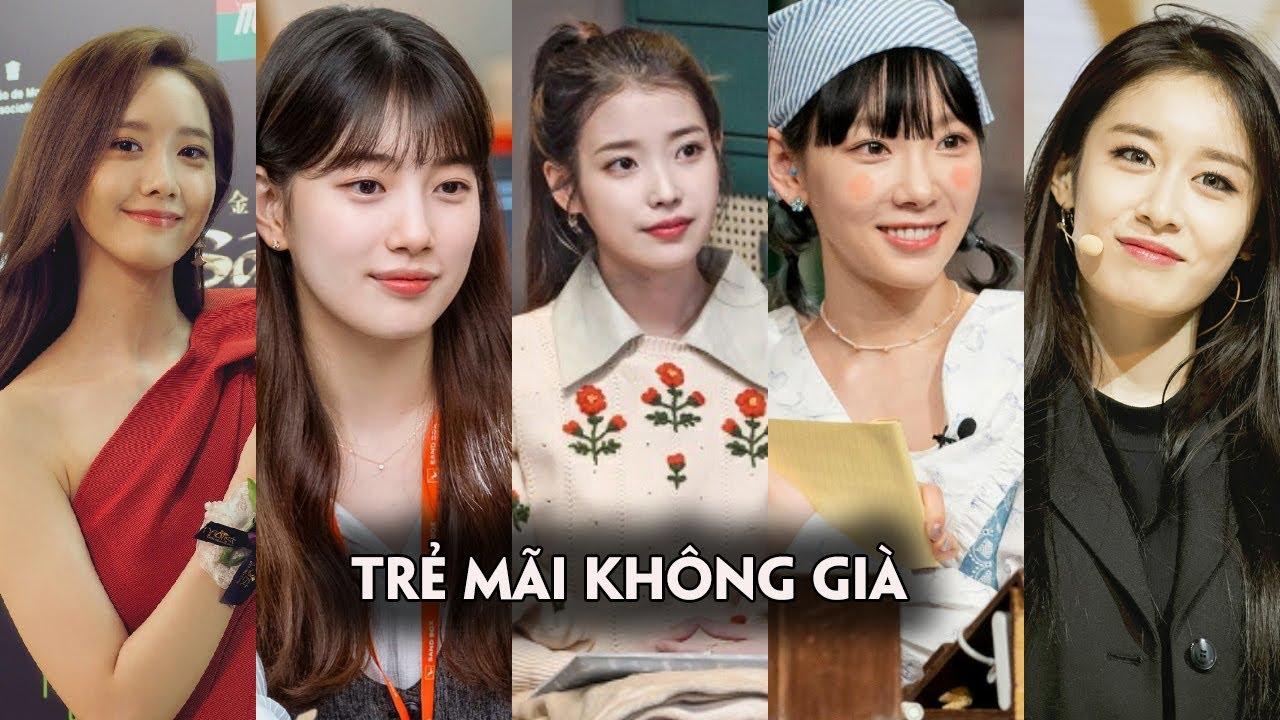 Những nữ Idol Kpop trẻ mãi không già