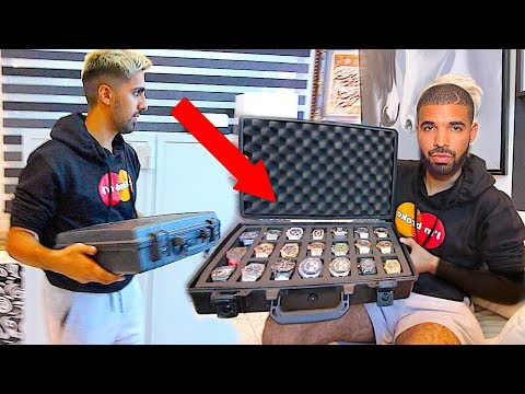 Drake Watch Collection- *Worlds Most Expensive Watches*