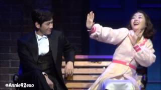 140801 昼 〇 4 EXO Baekhyun Singin' In The Rain Musical 싱잉인더레인 뮤지컬 音あり