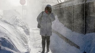Winter Storm in South; Biтter Cold in Northeast