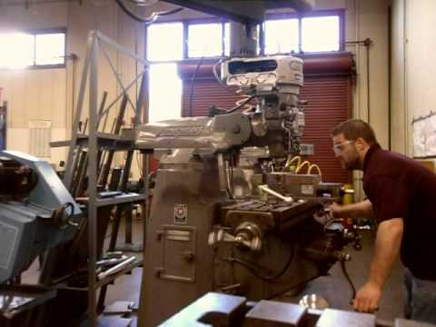 Machine Shop - Vertical Mill Fail