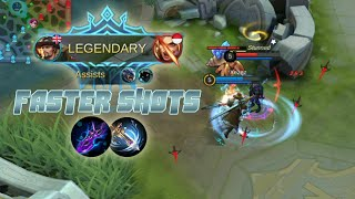 Yi Sun Shin Faster Shots Build Legendary - Mobile Legends