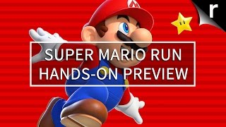 Super Mario Run Hands-on Preview: Gameplay first look